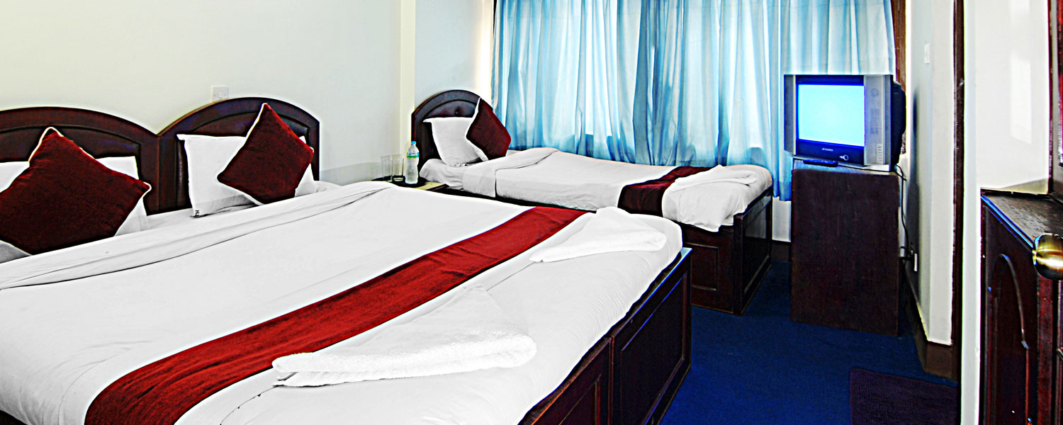 Hotel Thamel Lily Family Bed Room